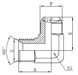 BSP Hidrolik Adaptörler Çizim