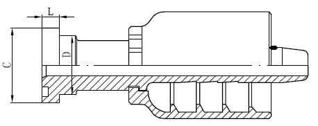 SS Boru Konektörü Çizimi